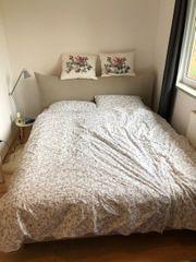 Verkaufe schönes Doppelbett von Maison