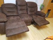 Microfaser Couch braun