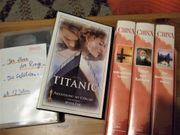 FILME VHS-Kassetten TITANIC Herr der