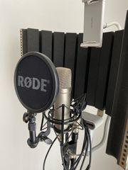 Rode Nt1a Mikrofon mit Stender