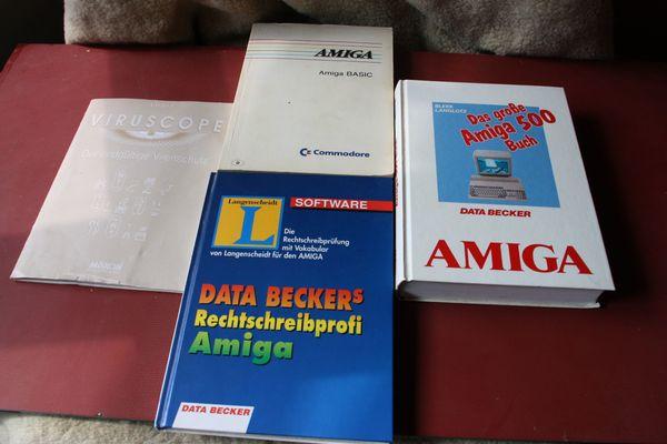 Alte PC Bücher Amiga
