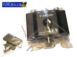 Albrecht CX-5 3-Wege Antennenschalter CB-Funk: Kleinanzeigen aus Großerlach - Rubrik CB, Amateurfunk