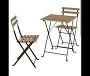 Gartentisch Set 3Teilig Gartenmöbel Balkontisch