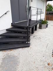 Terrassen Sanierung mit Steinteppichen 30