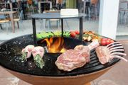 BBQ grillen Grillplatte GrillRing Plancha