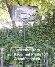 basketballkorb auf räder