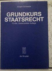 Grundkurs Staatsrecht von Jürgen Schwabe