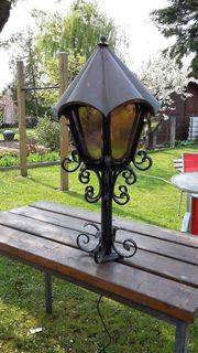 Alte Gartenlampe Laterne