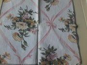 Deckchen - Dekorationsdeckchen - Blumenmuster - ca 30cm