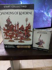 Warhammer40k Age of Sigmar Demons