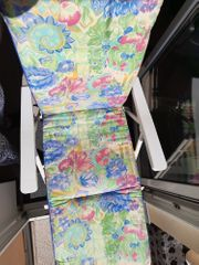 Sonnenschirm Stuhlauflage mit Blumenmuster Ø