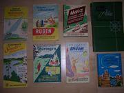 diverse Wander- Straßenkarten aus den