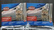 2x Trixie Schutzgitter für Katzen