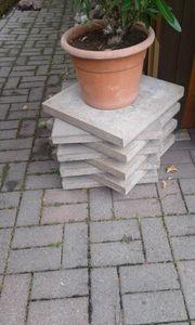 Estrich Gartenplatten