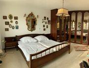 Mahagoni Schlafzimmer komplett mit Kleiderschrank