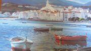 Original Gemälde spanisches Urlaubs Motiv