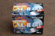 Maxell CD-RW XL-II 80 Audiorohlinge