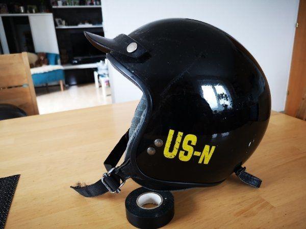 Motorradhelm Custom