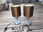 2 Nachttischlampen aus den 70ern
