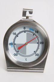 Edelstahl Kühlschrankthermometer-Tiefkühl-Weinthermometer -30° bis 30°