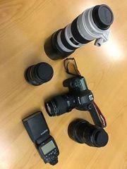 Canon Foto Equipment abzugeben