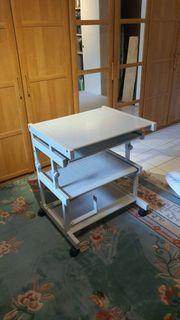 Computertisch auf Rollen Breite 64cm