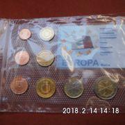 Kursmünzensatz Malta 2008
