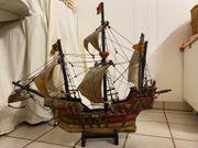 Modellschiff Santa Maria