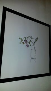 Ikea - Florales Bild Nr 1