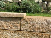 Abdecksteine für Godelmann GRANBLOCK Gartenmauerstein