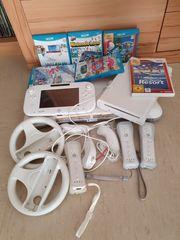 Nintendo WiiU mit diversem Zubehör
