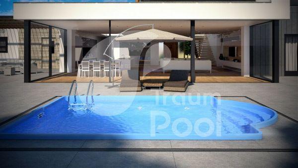 GFK Schwimmbecken Pool 6 x