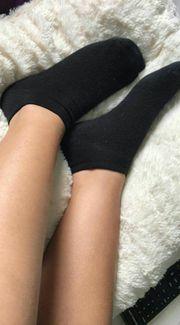 Verkaufe getragene Socken
