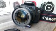 Canon EOS 1200d inkl 18-55mm