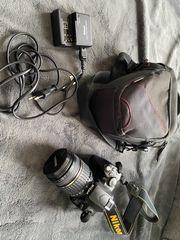 Nikon D 40 Spiegelreflexkamera mit