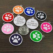 Hundemarke mit Gravur Anhänger Personalisiert