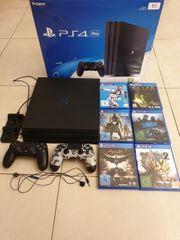 Playstation 4 Pro 1TB Spiele