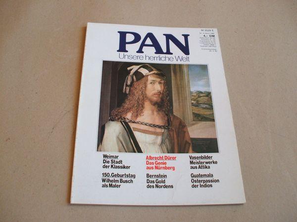Kunst-Zeitschrift PAN Burda-Verlag