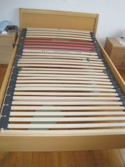 Bett Holz extra breit 207