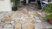polygonalplatten brasilianischer quarzit