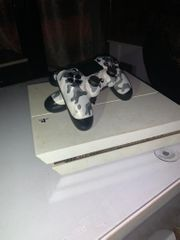 white playstation4 1 TB