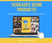 Verkaufe deine Produkte