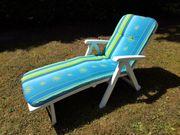 Sonnenliege zum entspannen