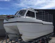 Katamaran 7 meter custom-made neuer