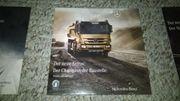 drei Mercedes-Benz Actros Werbe DVDs
