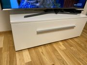 tv schrank Hochglanz Weiß