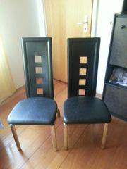 Zwei Lederstühle