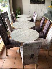 Tische Stühle Gastronomie Privat Set