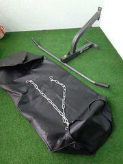 Boxsack - Boxsack-Füllung - Klimmzugstange mit Boxsack