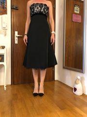 Schönes Abendkleid schwarz Gr 36